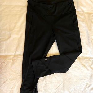 cropped running leggings